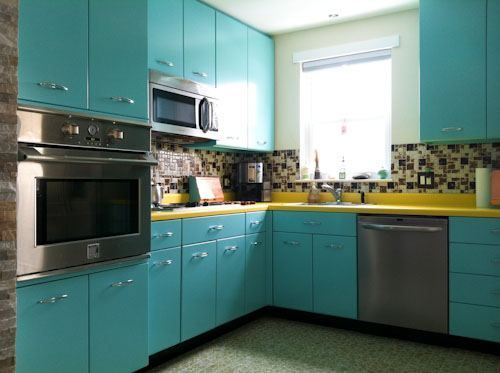Merveilleux ... Early American, As It Was Mentioned Earlier, Retro Kitchens Can Appeal  To The Vintage. Also There Is A Big Place For The Vintage Metal Kitchen  Cabinets.