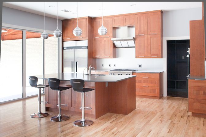 Kitchen Designs With Light Oak Cabinets