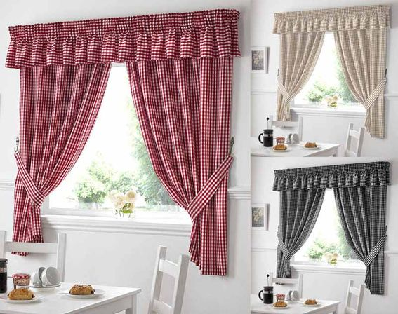 Country Kitchen Curtains Custom Design
