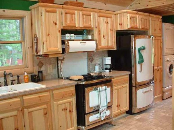Unfinished Knotty Pine Kitchen Cabinets – Wow Blog