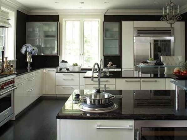 Reasons: why you need to choose black and white kitchen