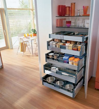 Kitchen storage cabinets free standing keeping implements for Take away kitchen units