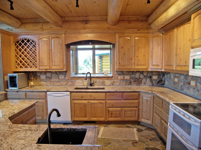 Log Cabin Kitchens Cabinets Ideas In 2020 Beautikitchens Com